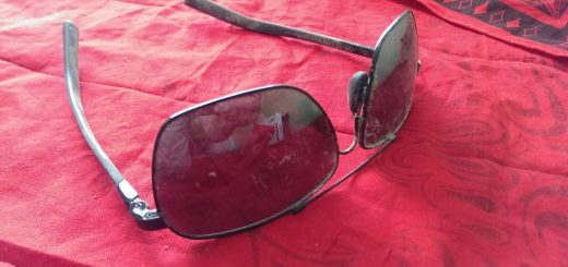 Paul Walker's Maui Jim sunglasses post mortem.