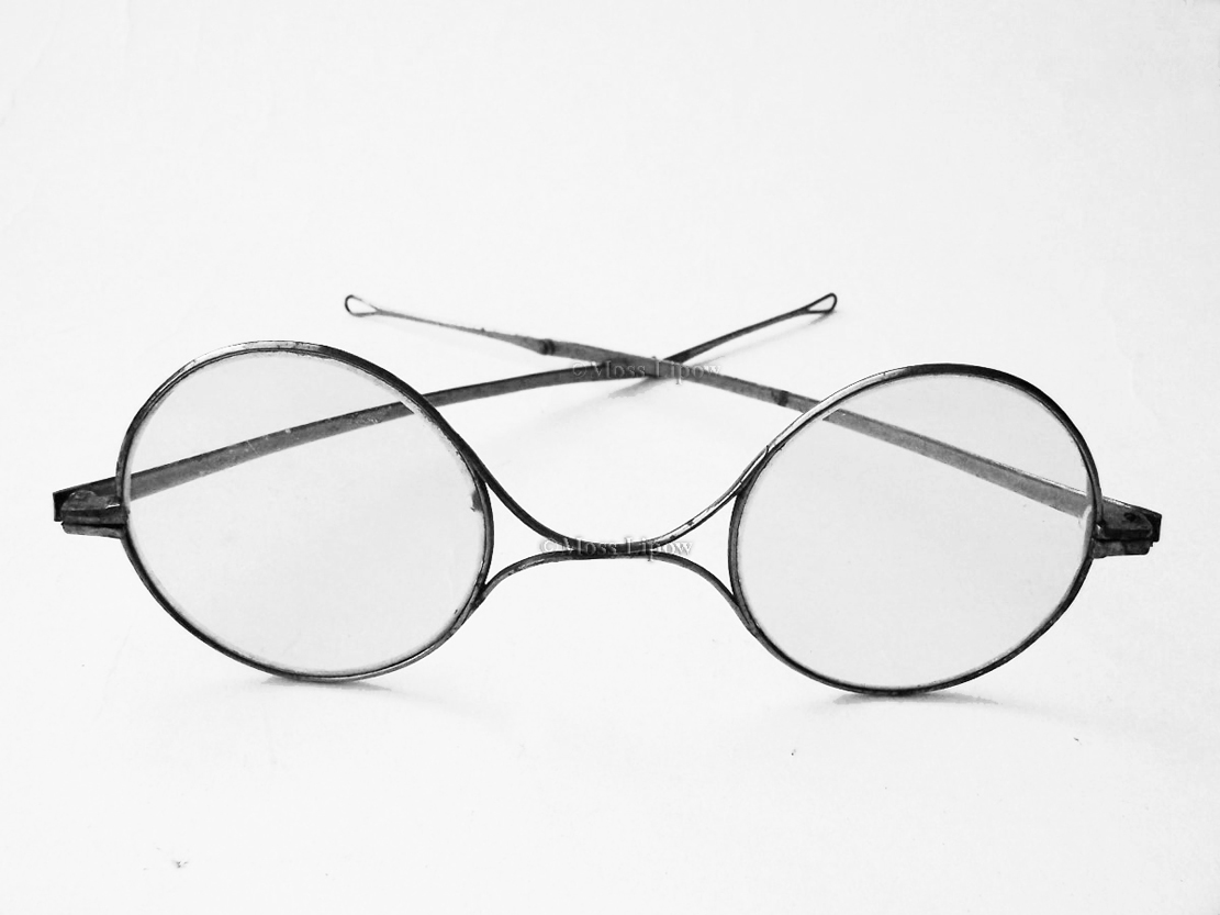 The earliest type of safety glasses, Germany circa 1850