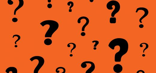 Orange Question Marks