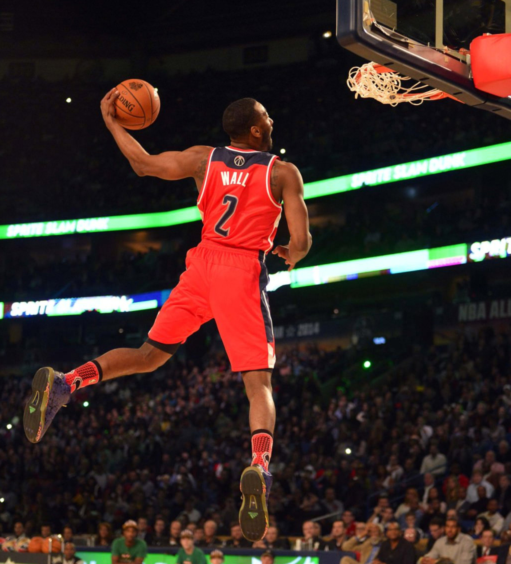 John Walls at 2011 Slam Dunk Contest.