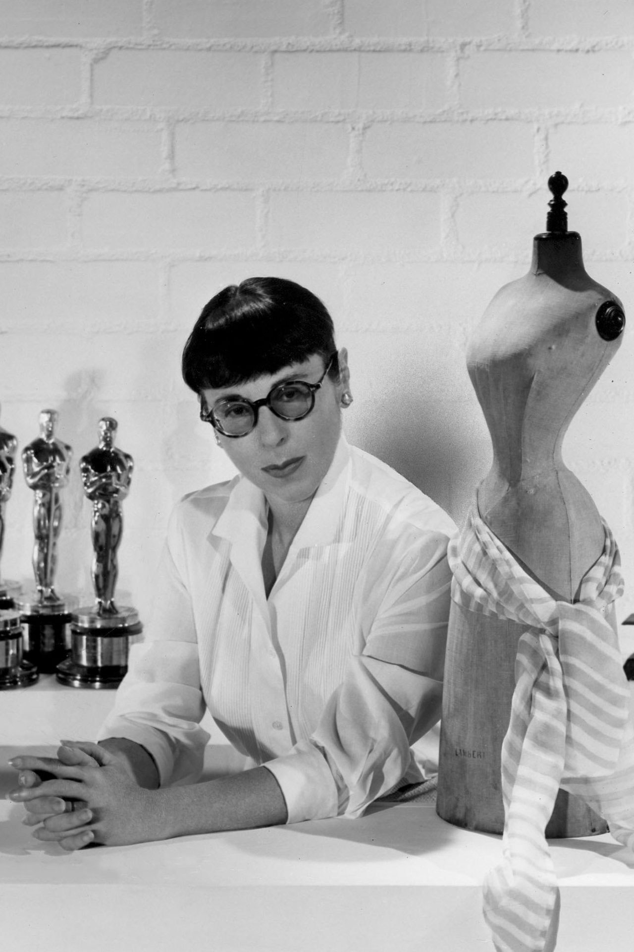 Edith Head, sometime in the 1950s