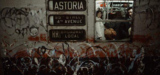 Photo of NYC subway car circa 1981 by Christopher Morris.
