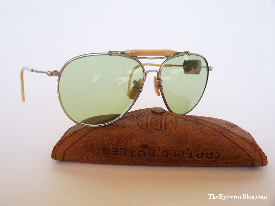 eb783d84369dc Combat Used AN6531 WWII Aviator Sunglasses - But who was Captain ...