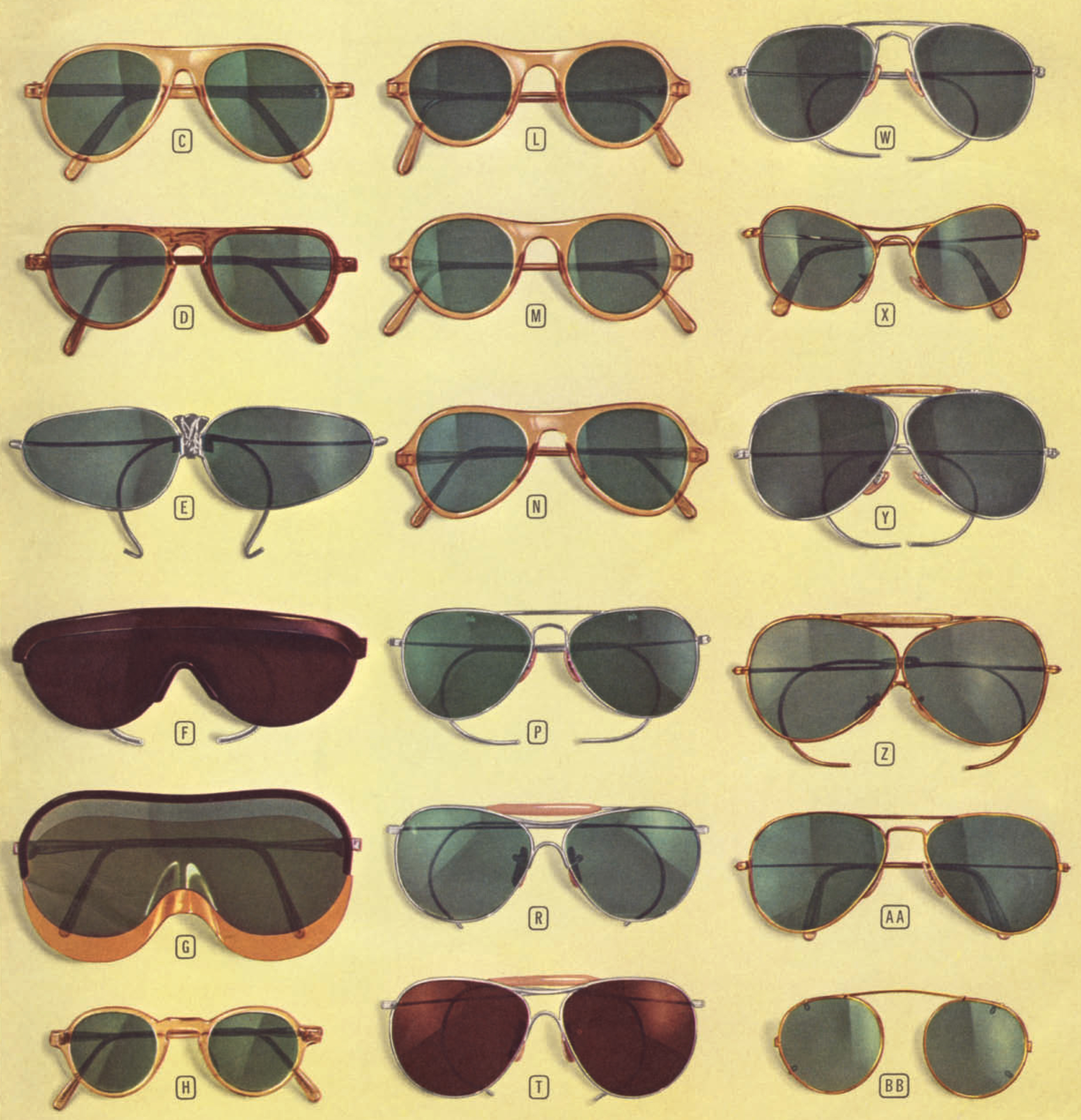 801d1ce966 Why exactly were aviator sunglasses so popular after WWII  The history of aviator  sunglasses .