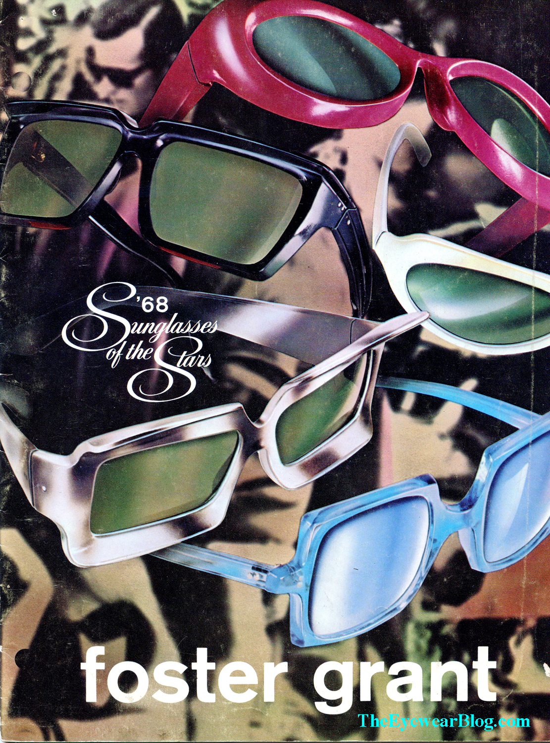 1968 Foster Grant Sunglasses Catalogue Cover