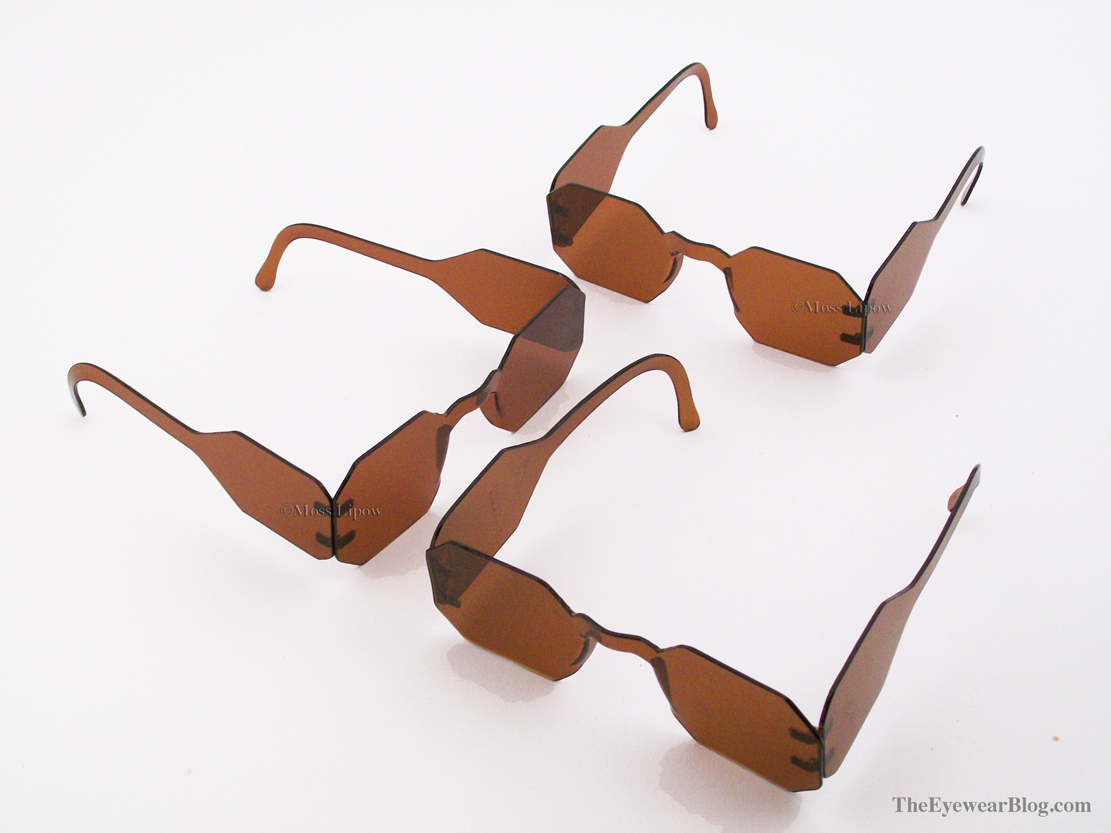 8d6f00b0772 Three pairs of celluloid sunglasses