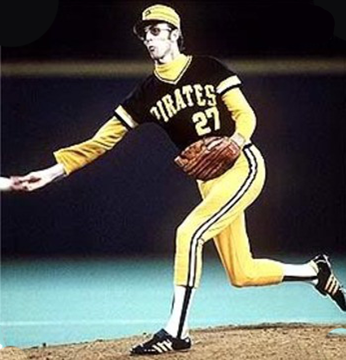 Gratuitous image of former Pittsburgh Pirate reliever Kent Tekulve, who looked sort of like a stick insect in sunglasses