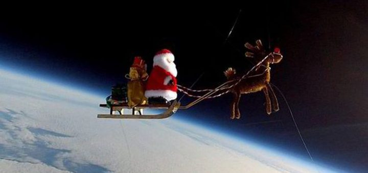 Santa in Atmosphere